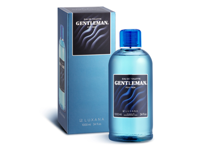 18000 GENTLEMAN EDT 1000 ML ESTUCHADO