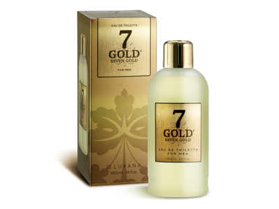 19000 SEVEN GOLD EDT 1000 ML ESTUCHADO