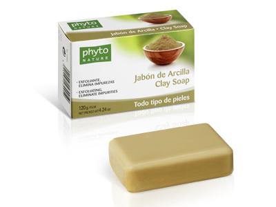 43005 PHYTO NATURE PASTILLA JABON ARCILLA 120 GR.