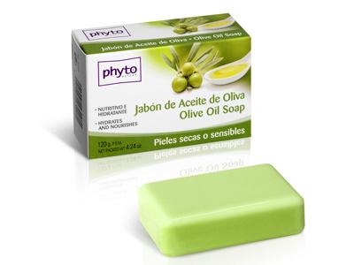 43008 PHYTO NATURE PASTILLA JABON ACEITE OLIVA 120 GR