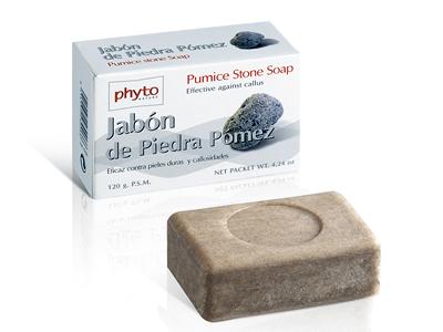 43006 PHYTO NATURE PASTILLA JABON PIEDRA POMEZ 120 GR