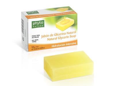 43013 PHYTO NATURE PASTILLA JABON DE GLICERINA NATURAL 120 gr